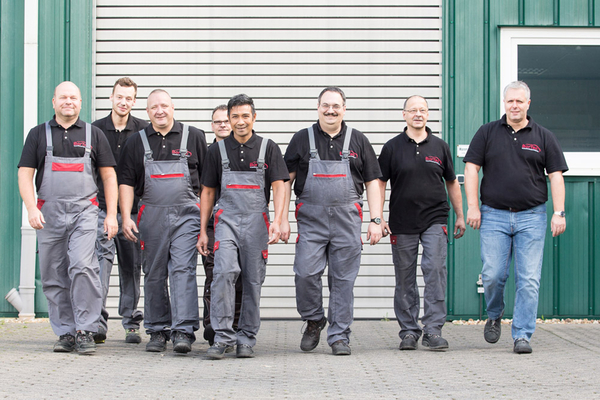 A Photograph of the bortec-team.