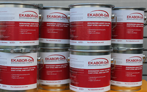 A close up photo of ekabor boronzing agents.
